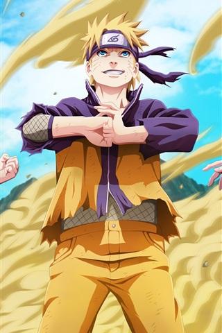 iPhone Wallpaper TV anime, Naruto