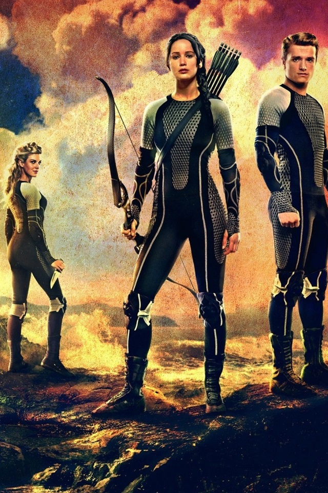 2013 Movie The Hunger Games Catching Fire 640x1136 Iphone
