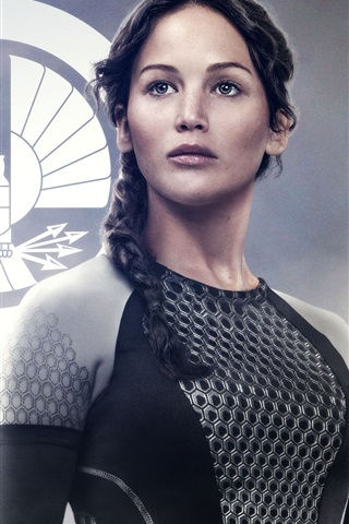 iPhone Wallpaper Jennifer Lawrence in The Hunger Games: Catching Fire