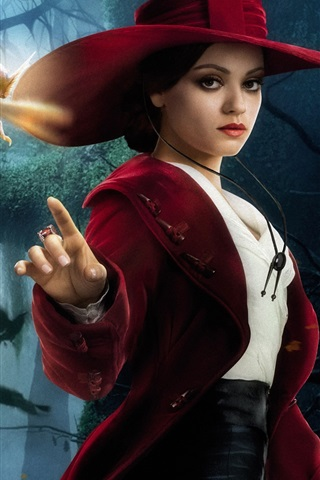 iPhone Hintergrundbilder Mila Kunis in Oz: The Great and Powerful