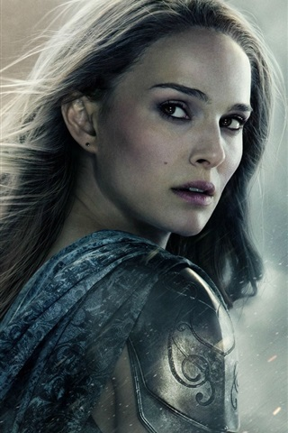 iPhone Wallpaper Natalie Portman in Thor: The Dark World