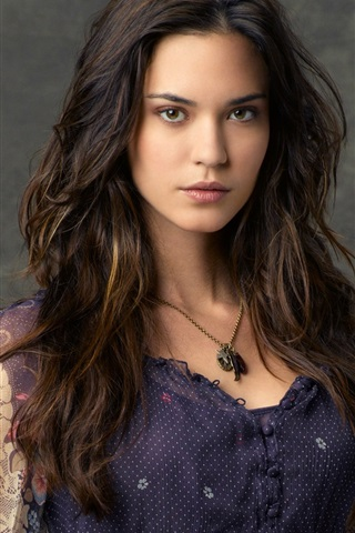 iPhone Wallpaper Odette Annable 01