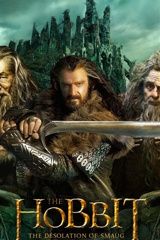 iPhone Wallpaper The Hobbit: The Desolation of Smaug