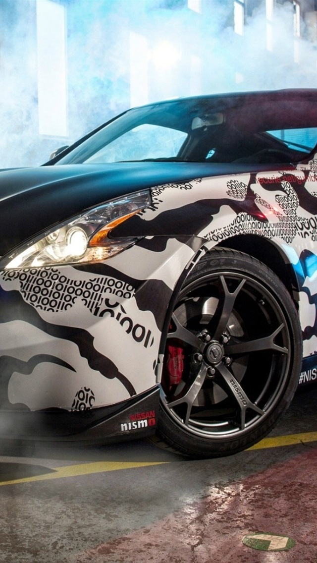 Nissan 370z Supercar Gumball 3000 Rally 640x1136 Iphone 55s