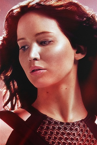 iPhone Wallpaper The Hunger Games: Catching Fire, Jennifer Lawrence
