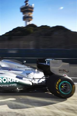 formula 1 f1 mercedes benz race car
