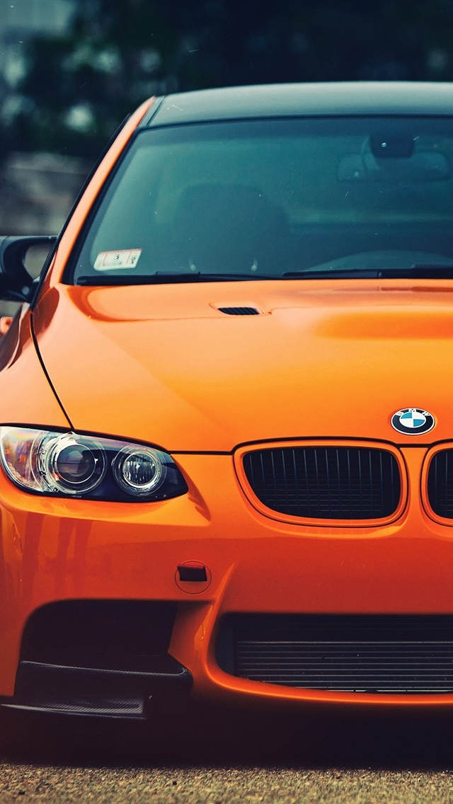 Wallpaper Bmw M3 Orange Car Front View 2560x1600 Hd