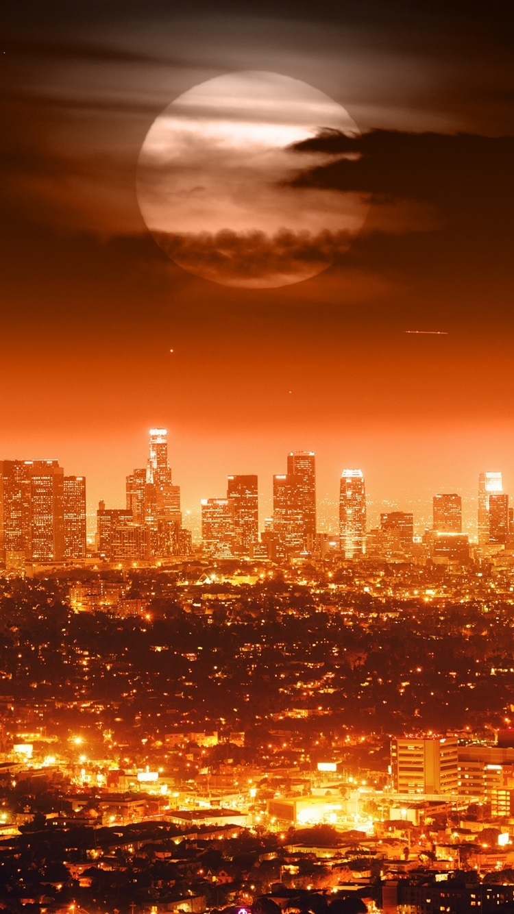 20 Beautiful Los Angeles iPhone X Wallpapers | Iphone ... |Los Angeles City Phone Wallpaper
