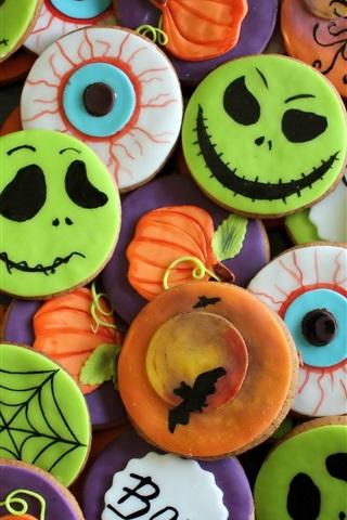 iPhone Wallpaper Halloween cookies