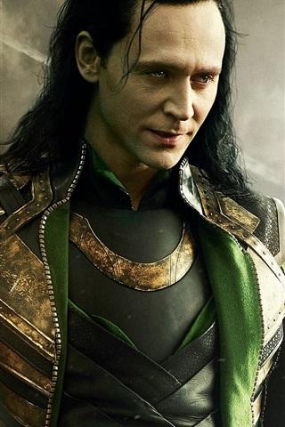 Tom Hiddleston, Loki 640x960 iPhone