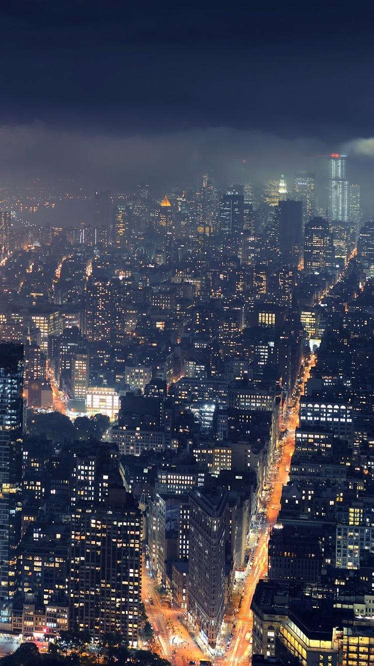 壁紙 ニューヨーク メトロポリス 高層ビル 夜景 2560x1600 Hd 無料のデスクトップの背景 画像