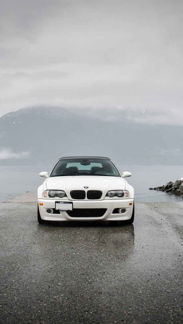 Bmw M3 E46 Yellow Black White Cars 640x1136 Iphone 5 5s 5c Se Wallpaper Background Picture Image