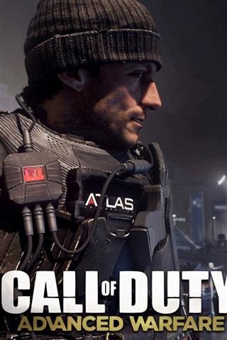 iPhone Papéis de Parede Call of Duty: Avançado Guerra