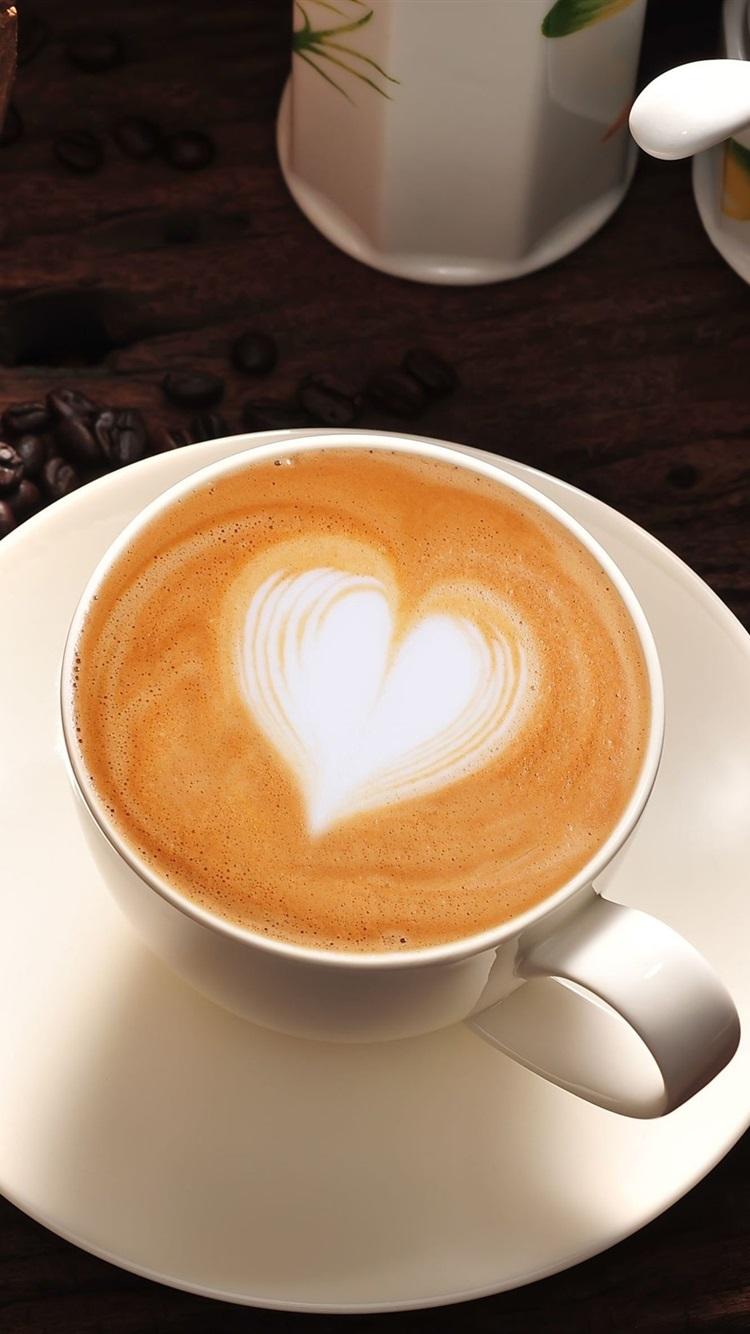 Картинки кофе с сердечками
