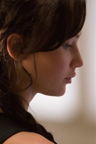 iPhone Hintergrundbilder Jennifer Lawrence, The Hunger Games: Catching Fire 2013 Film