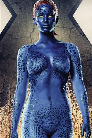 iPhone Wallpaper Jennifer Lawrence, X-Men: Days of Future Past