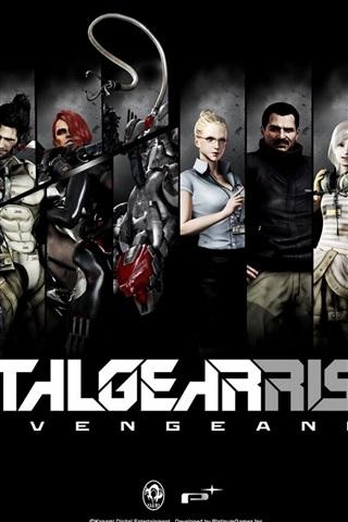 iPhone Papéis de Parede Metal Gear Nascente Revengeance, jogo de PC HD