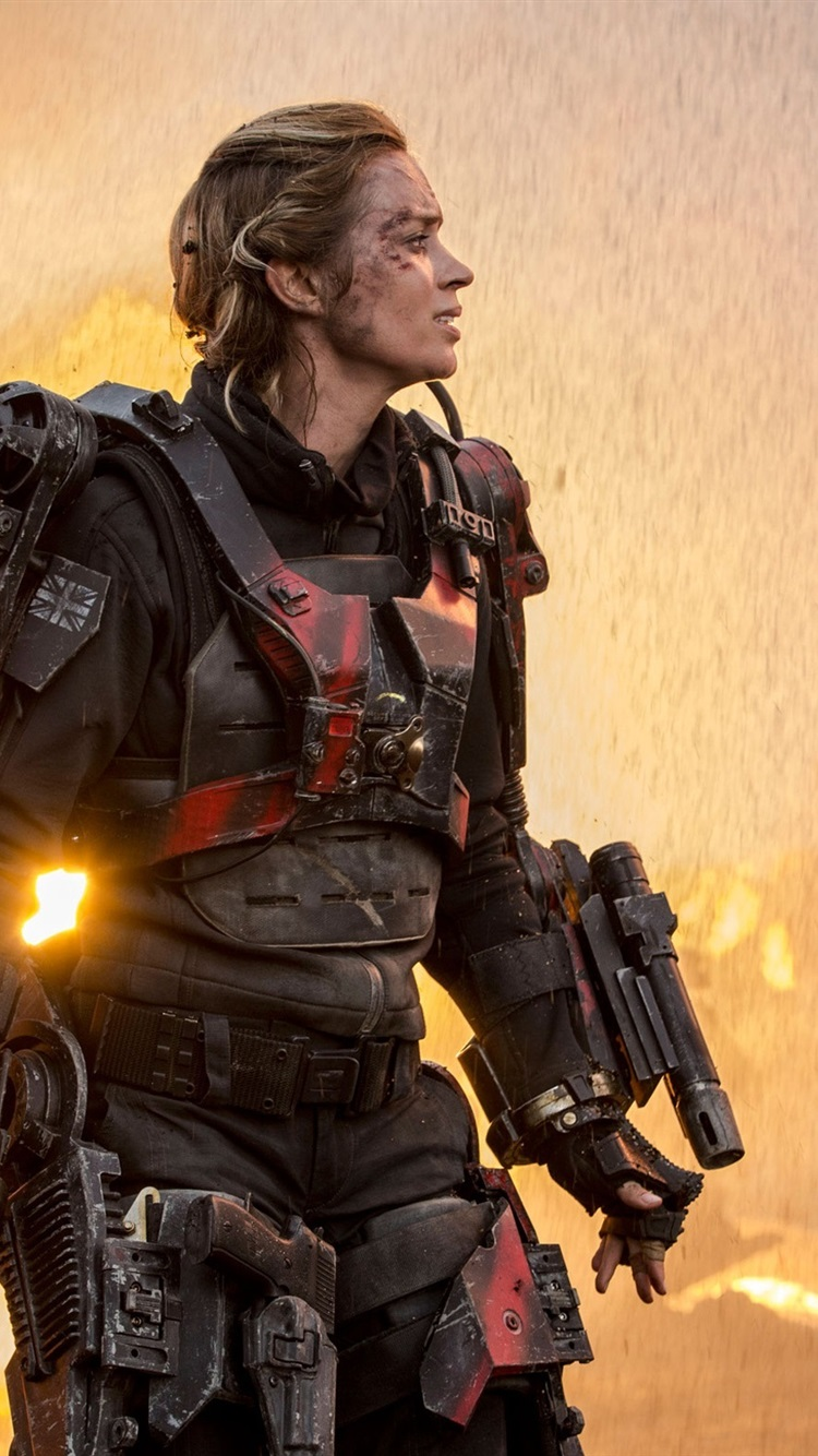 Wallpaper Emily Blunt Edge Of Tomorrow 2560x1600 Hd Picture Image