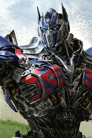 iPhone Hintergrundbilder Optimus Prime Transformers 4