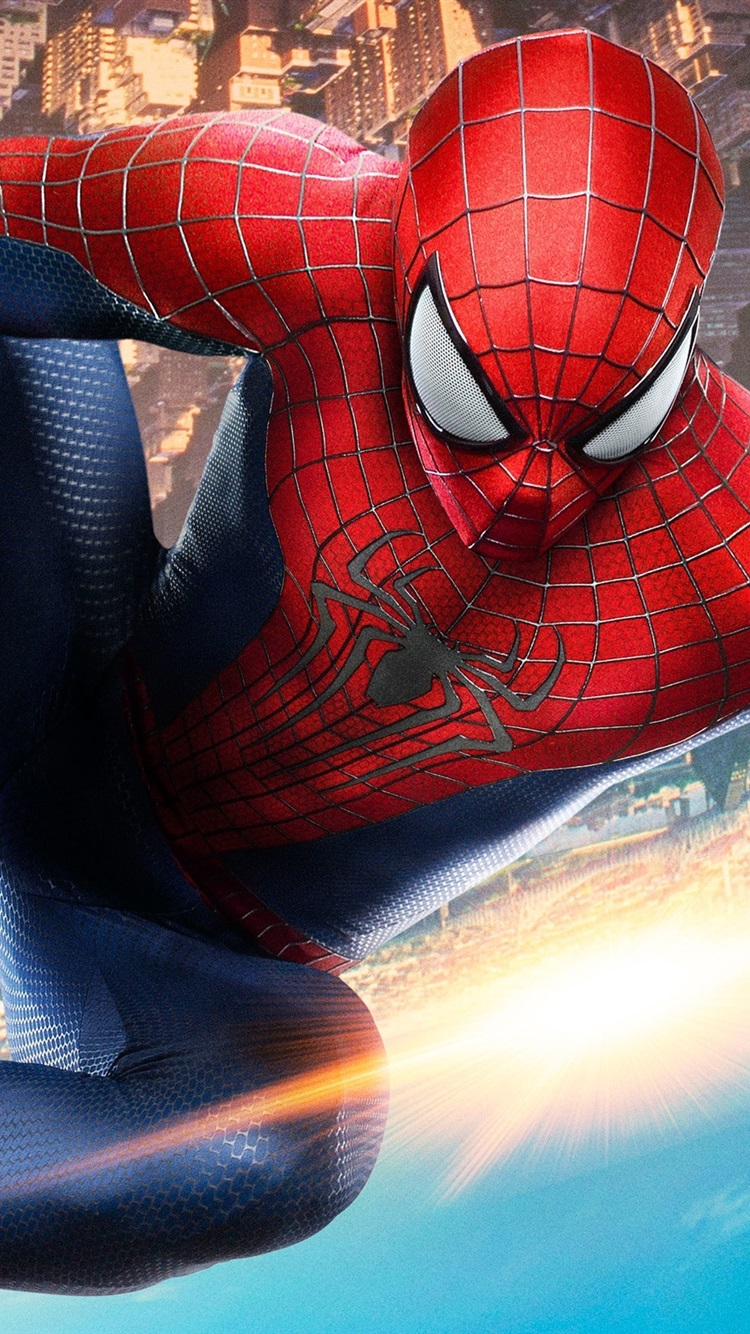 The Amazing Spider Man 2 Movie Hd 750x1334 Iphone 8 7 6 6s