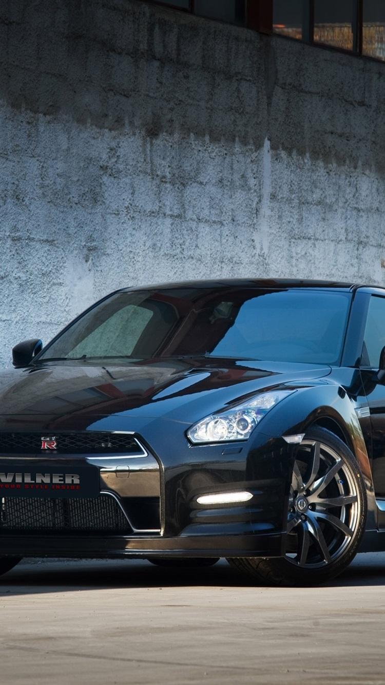 Fondos De Pantalla Automóvil Nissan Gtr R35 Negro Vilner
