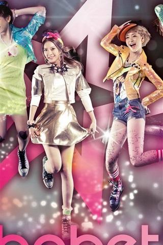 iPhone Papéis de Parede Dal Shabet meninas da música korea 05