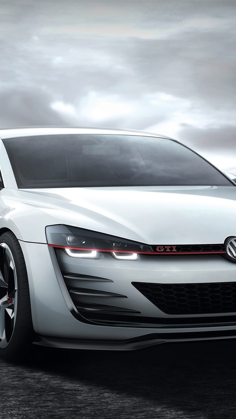 Wallpaper Volkswagen Golf Gti White Car 1920x1440 Hd Picture Image