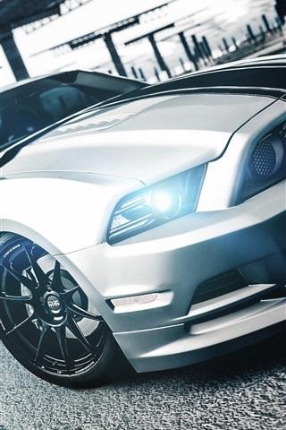 iPhone Wallpaper Ford Mustang Boss 302 supercar