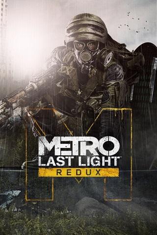 iPhone Wallpaper Metro: Last Light Redux