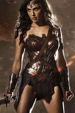 iPhone Wallpaper Wonder woman, Batman v Superman: Dawn of Justice