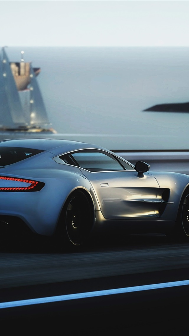 Aston Martin One 77 Supercar Speed 750x1334 Iphone 8 7 6 6s Wallpaper Background Picture Image