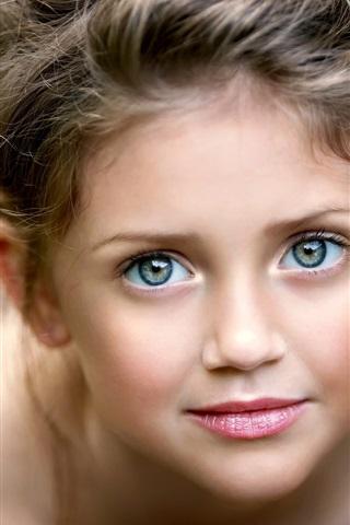 c0db12d54ed iPhone Wallpaper Cute little girl