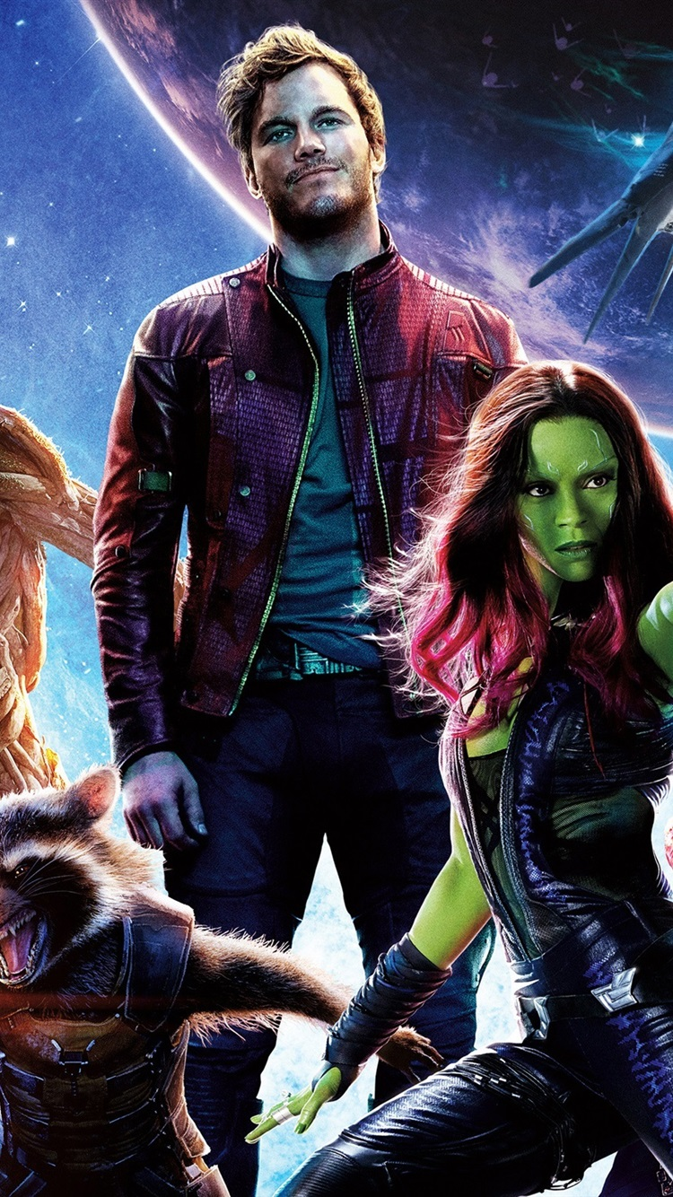 Guardians Of The Galaxy Hd 750x1334 Iphone 8766s