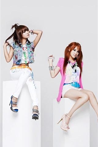 iPhone Wallpaper Korea KARA girls 01