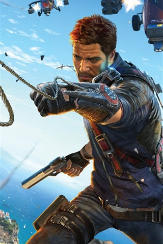 iPhone Wallpaper Just Cause 3