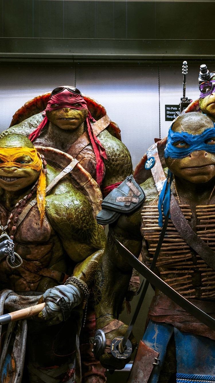 Wallpaper Teenage Mutant Ninja Turtles 2014 Movie 2560x1600 Hd