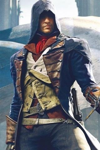 iPhone Wallpaper Assassin's Creed: Unity, Ubisoft
