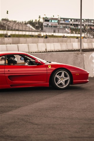Ferrari 355 Supercar Rojo 640x1136 Iphone 55s5cse Fondos