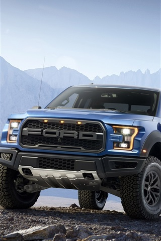 iPhone Wallpaper Ford F-150 Raptor Pickup
