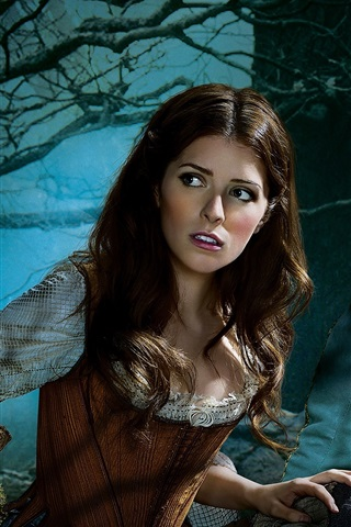iPhone Wallpaper Into the Woods, Anna Kendrick, Chris Pine
