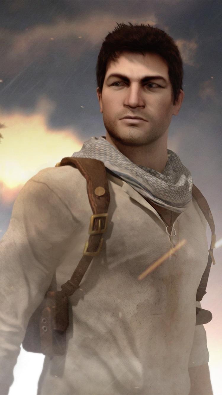 Nathan Drake Uncharted Tomb Raider Lara Croft 750x1334
