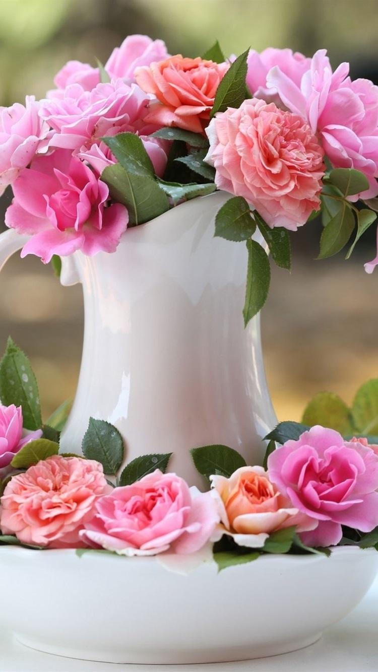 картинка вертикальная цветы доброе утро как