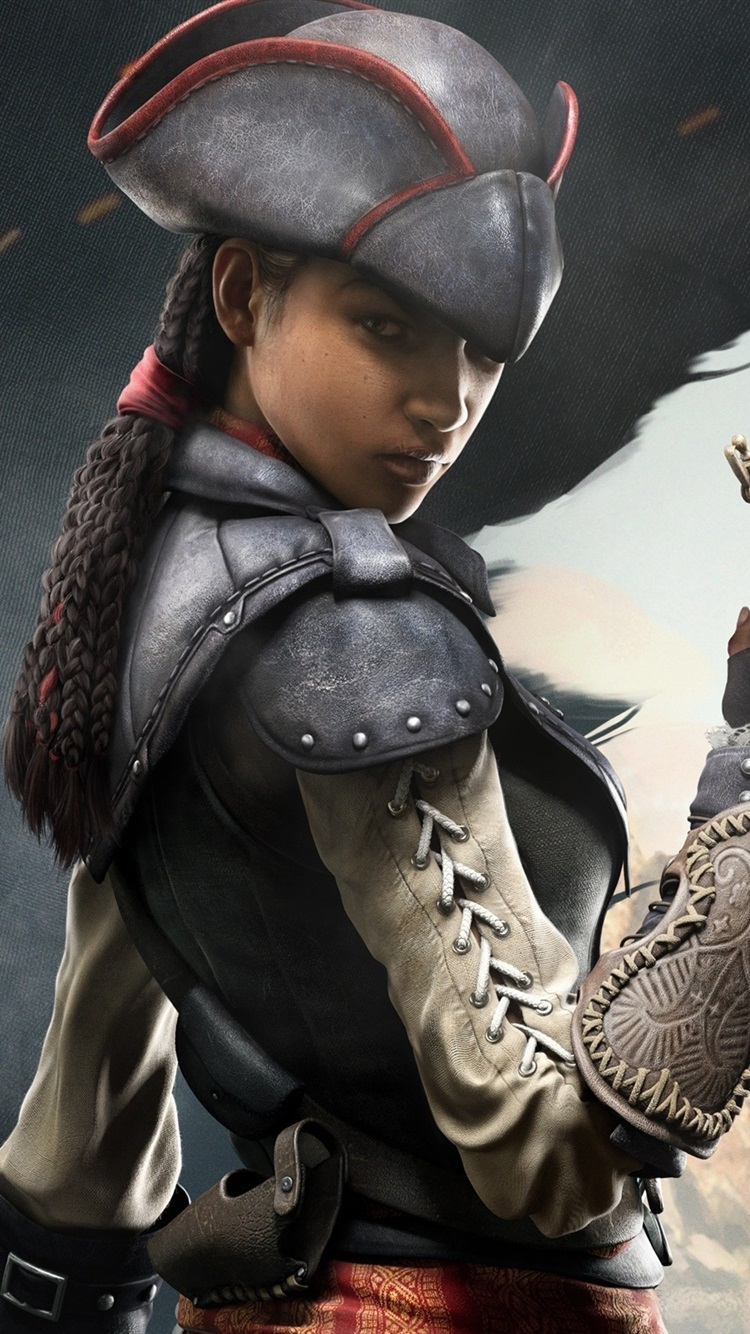Wallpaper Assassin S Creed Iv Black Flag Girl Assassin 2560x1600