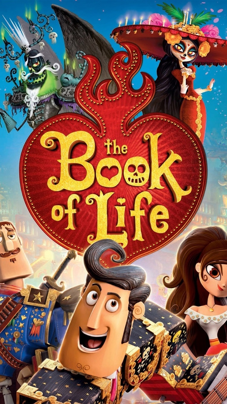 The Book Of Life Cartoon Movie 750x1334 Iphone 8 7 6 6s Wallpaper