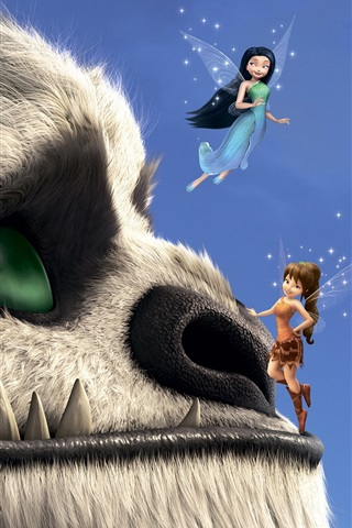 promo code b0b2a ca940 TinkerBell and the Legend of the NeverBeast 750x1334 iPhone ...