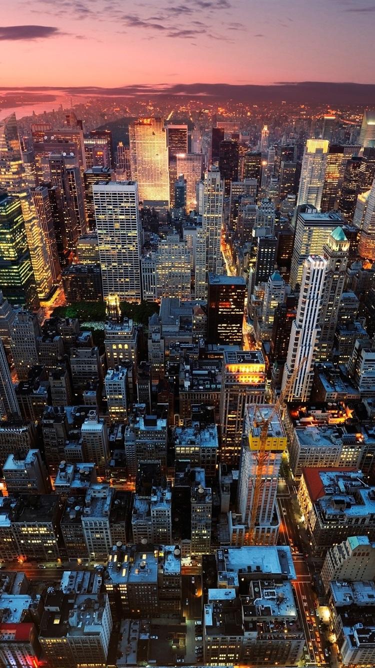 Обои new york, manhatten, ночь. Города foto 16