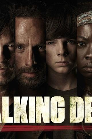 iPhone Wallpaper The Walking Dead, TV series