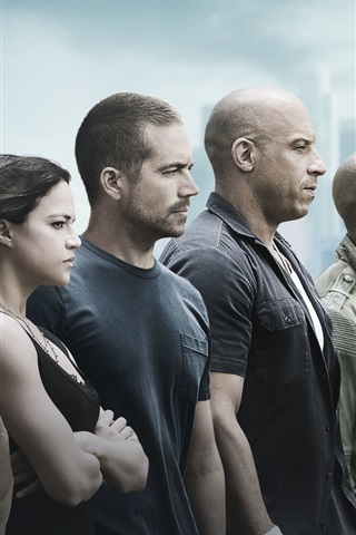 iPhone Wallpaper Fast and Furious 7 HD