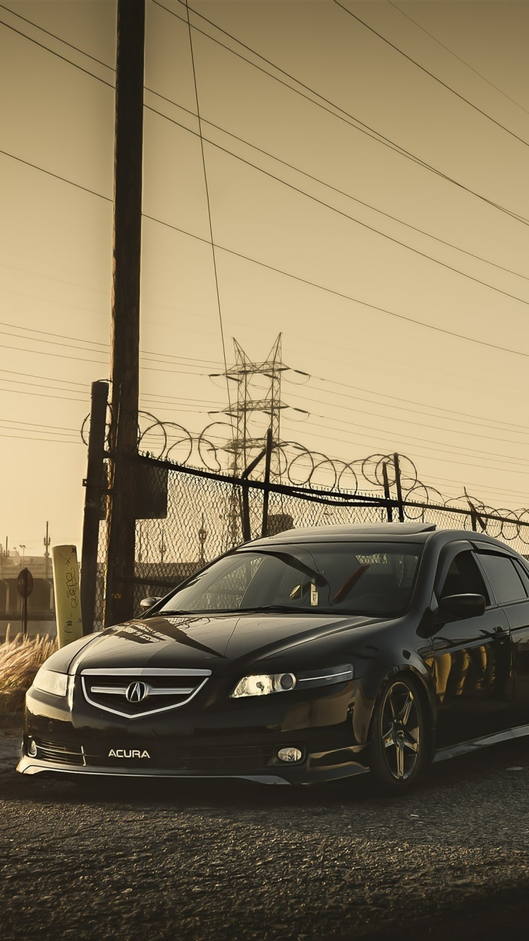 Wallpaper Honda Accord Acura Black Car 2560x1600 Hd Picture Image