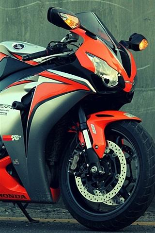 iPhone Wallpaper Honda CBR 1000 motorcycle